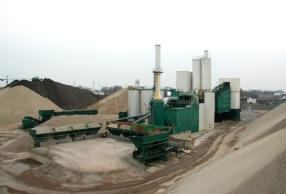 Asfaltcentrales / asfaltindustrie