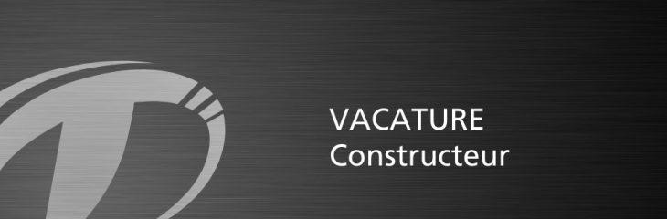 Vacature Constructeur