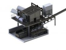 Anlage für den Umschlag von Kohle