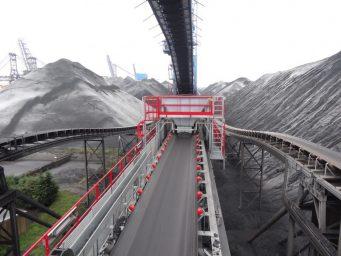 Transportband Kolen - IJzererts